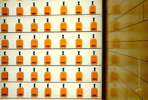 A display of Woodford Reserve.